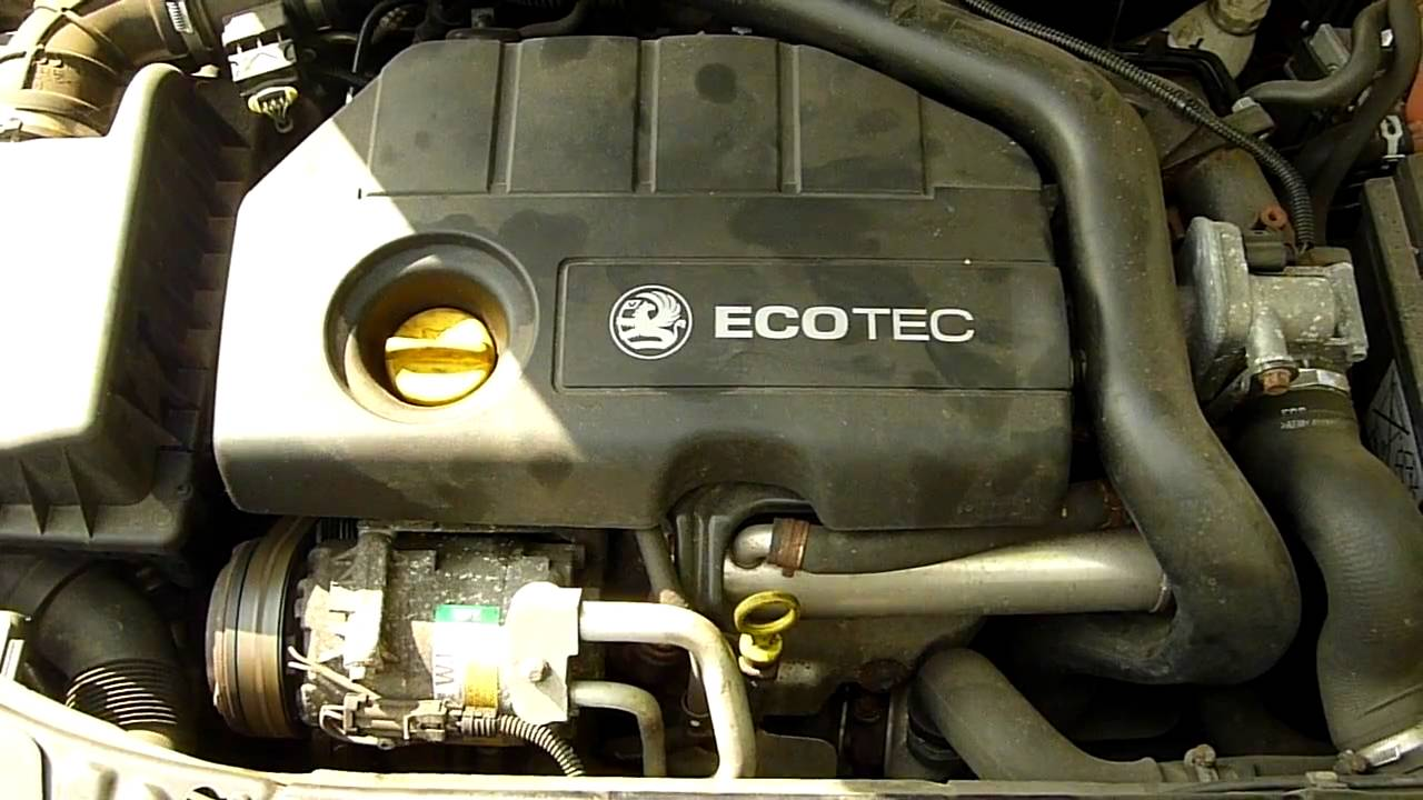 Vauxhall Astra 1 7 Cdti 2007 Engine Code Z17dth Running