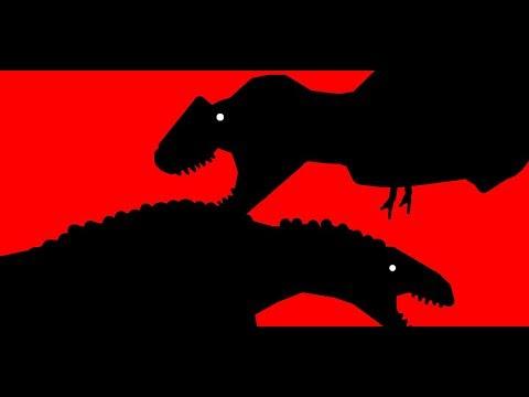 Stunt Rage 2017 Acrothantosaurus vs Bistahieversor (Quick Match)