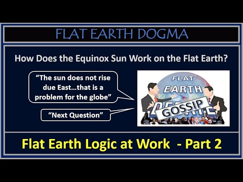 Part 2 - The Absolute Ignorance of the Flat Earth Debate Panel (cont) thumbnail