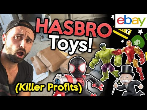 Hasbro Toys That Will Make You CRAZY Profits 💰💰 Selling on eBay in 2018