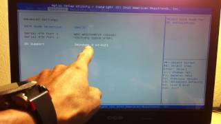 Como dar boot no notebook CCE UltraThin U25?