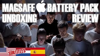 Apple Magsafe Battery Pack   Unboxing & Review