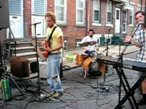 This is a performance of my rock band, The Armchairs, at a block party last summer. The name of the tune is Nebraska.