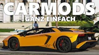 GTA 5 | CAR MODS INSTALLIEREN | ECHTE AUTOMARKEN IN GTA 5! | REPLACE | PC CAR MOD | DEUTSCH | Ju LeX