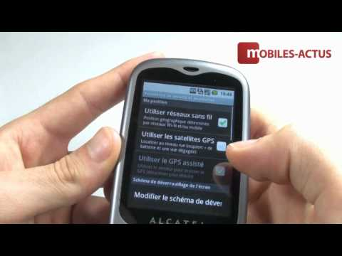 Test Alcatel OT 980 - Démonstration sous Android