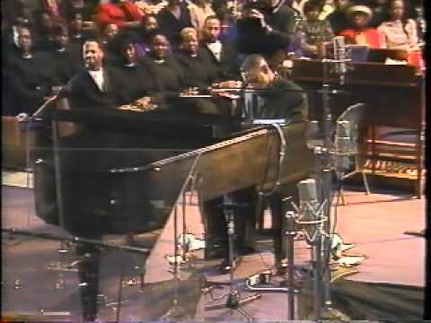 Pastor Ronald Williams playing It is Well