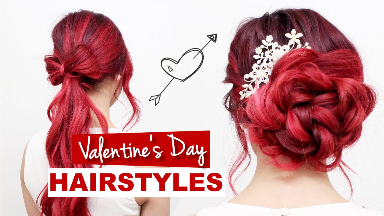 Valentines Day Hairstyles Tutorial L Formal Hairstyles For Prom - Hairstyle for valentine's dance