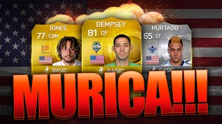 FIFA 15 - THE AMERICAN HURRICANE!!! - OVERPOWERED SQUAD BUILDER - FIFA 15 ULTIMATE TEAM