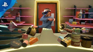 Shooty Fruity - PSX 2017: Live Action Trailer | PS VR