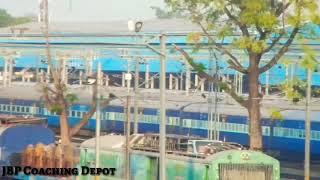 JABALPUR Railway Electricfication || JBP-KTE Route in Jabalpur || Indian Railways