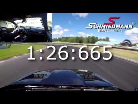 BMW M4 by Schmiedmann Motorsport - Timeattack @ Mantorp Park 20160709