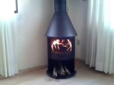 Chimenea modelo alux de chimet youtube - Como se construye una chimenea ...