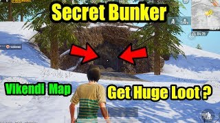 PUBG Mobile Vikendi Map Secret Bunker To Get Huge Loot In Pubg Mobile | Many People Don't Go There