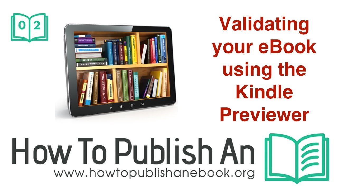 Validating Your Ebook Using The Kindle Previewer