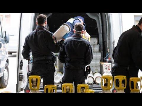 Corriere della Sera: Coronavirus, a Bergamo i carabinieri portano le bombole d'ossigeno ai malati