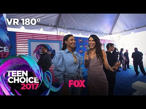 Naya Rivera Dishes On Her YouTube Red Series | TEEN CHOICE
