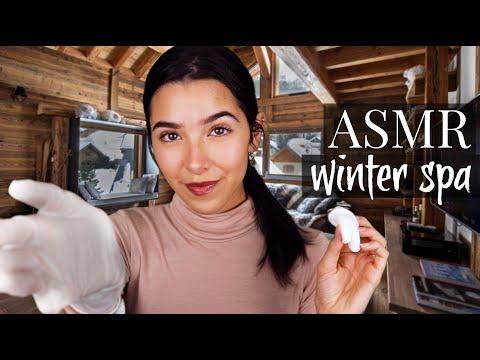 ASMR Winter Spa Treatment