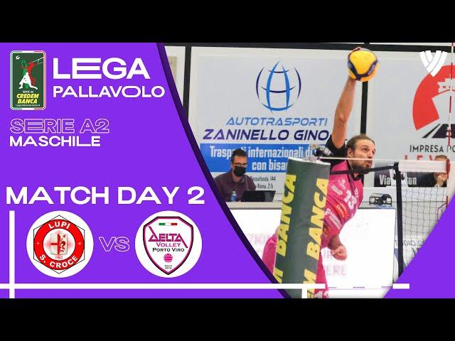 Santa Croce vs. Porto Viro - Full Match | Men's Serie A2  | 2021
