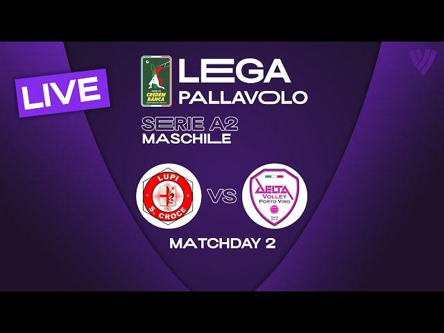 LIVE 🔴 Santa Croce vs. Porto Viro - Men's Serie A2  | 2021