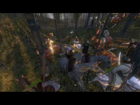 Warband: AI cavalry using couched lance