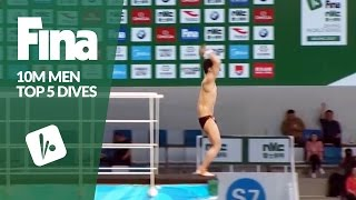 Top 5 Dives Men's 10m Final | FINA/NVC Diving World Series - Beijing 2017