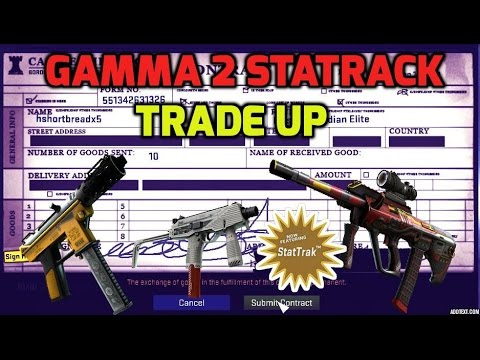 Cool Stattrack Gamma 2 Classified + 2 Revolver - Best trade up contracts in CS:GO #24
