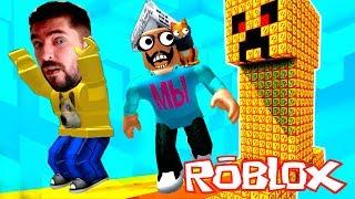 Майнкрафт в РОБЛОКС! Девочка Блогер придумала Испытание игра Roblox Мы играем