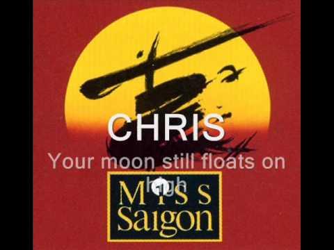 Miss Saigon Sun and Moon w/ lyrics