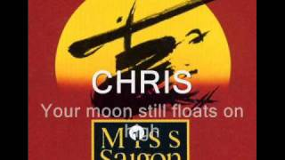 Miss Saigon Sun and Moon w/ lyrics