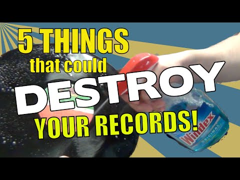 How to care for your vinyl LPs | Stuff that will DESTROY your records (Vinyl Community)