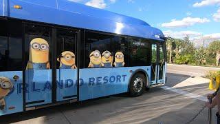 Universal Studios Florida Cabana Bay Resort Bus Transportation