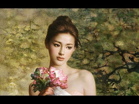 中國近代畫家 淑女油畫 (Oil Paintings by Modern Chinese Artists)