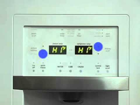 frigidaire french door refrigerator sealed system icemaker service diagnostics sabbath mode. Black Bedroom Furniture Sets. Home Design Ideas