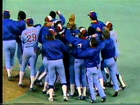The Montreal Expos Win A Playoff Series!