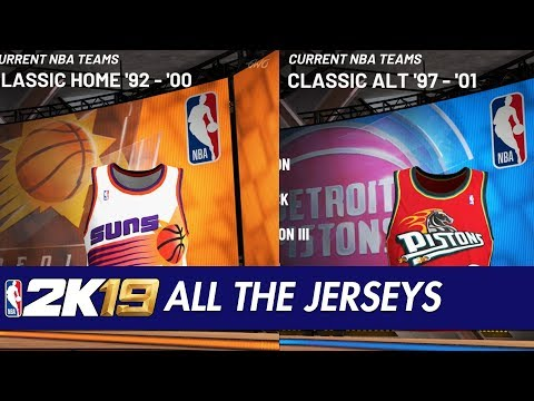 1deb7bad7 All uniforms in 2K19. TONS of new uniforms including OG Vancouver - NBA2k
