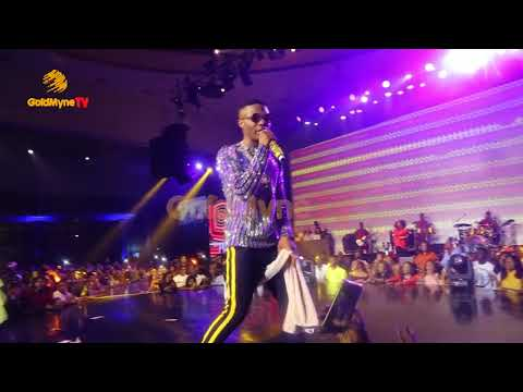 WIZKID AND TIWA SAVAGE'S PERFORMANCE AT WIZKID THE CONCERT