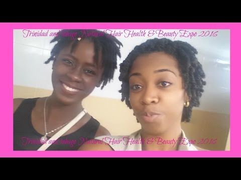 102. VLOG:Trinidad and Tobago Natural Hair Health and Beauty Expo