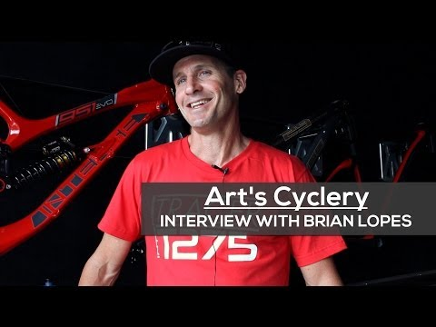 Art's Cyclery | Interview with Intense Pro Rider Brian Lopes
