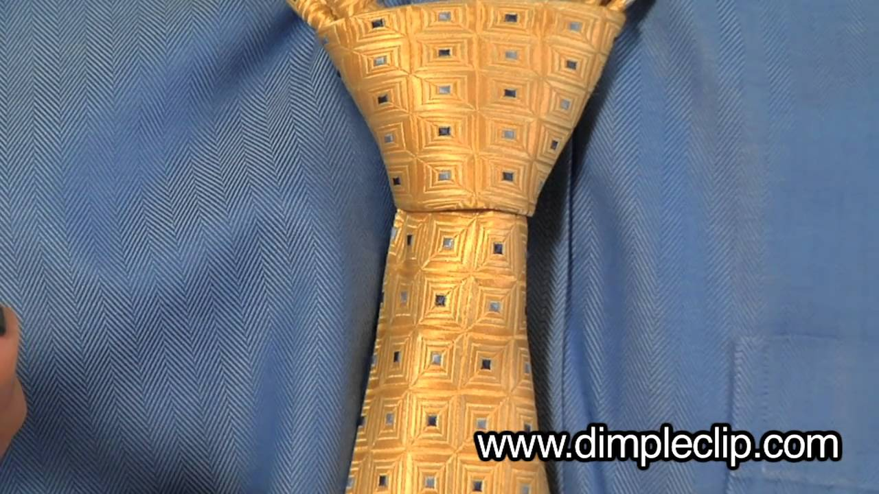 How to tie and dimple your necktie full windsor youtube ccuart Image collections