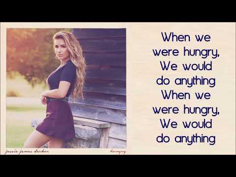 Jessie James Decker - Hungry (Lyric Video)