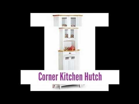 Beautiful Corner Kitchen Hutch