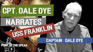 Dale Dye talks about narrating USS Franklin film