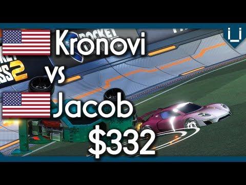 Kronovi vs Jacob | $332 Rocket League 1v1 thumbnail
