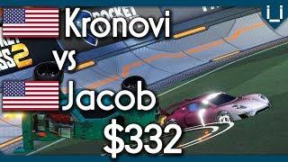 Kronovi vs Jacob | $332 Rocket League 1v1