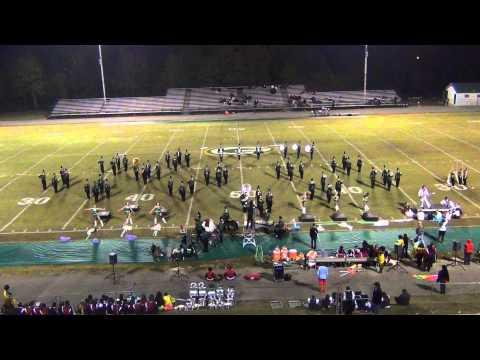 Gordo High School, Alabama - November 7, 2014 performance