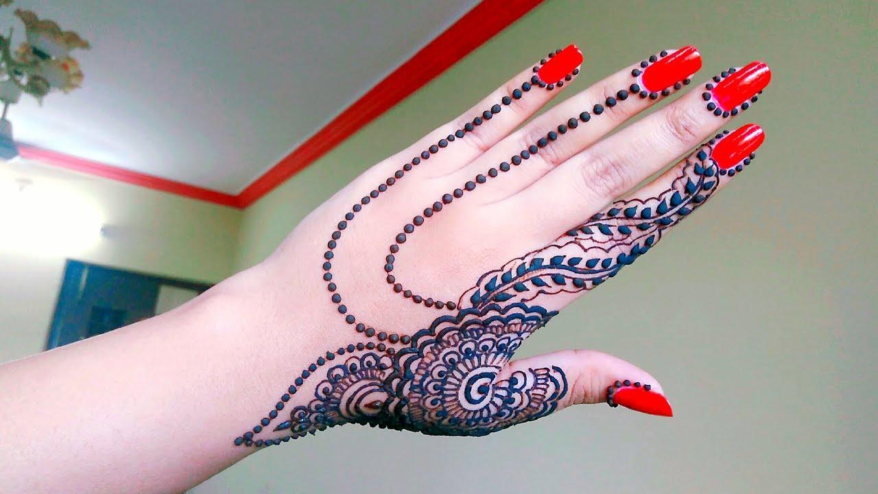 Diwali Henna Designs: Diwali Mehndi Design For Back Hand