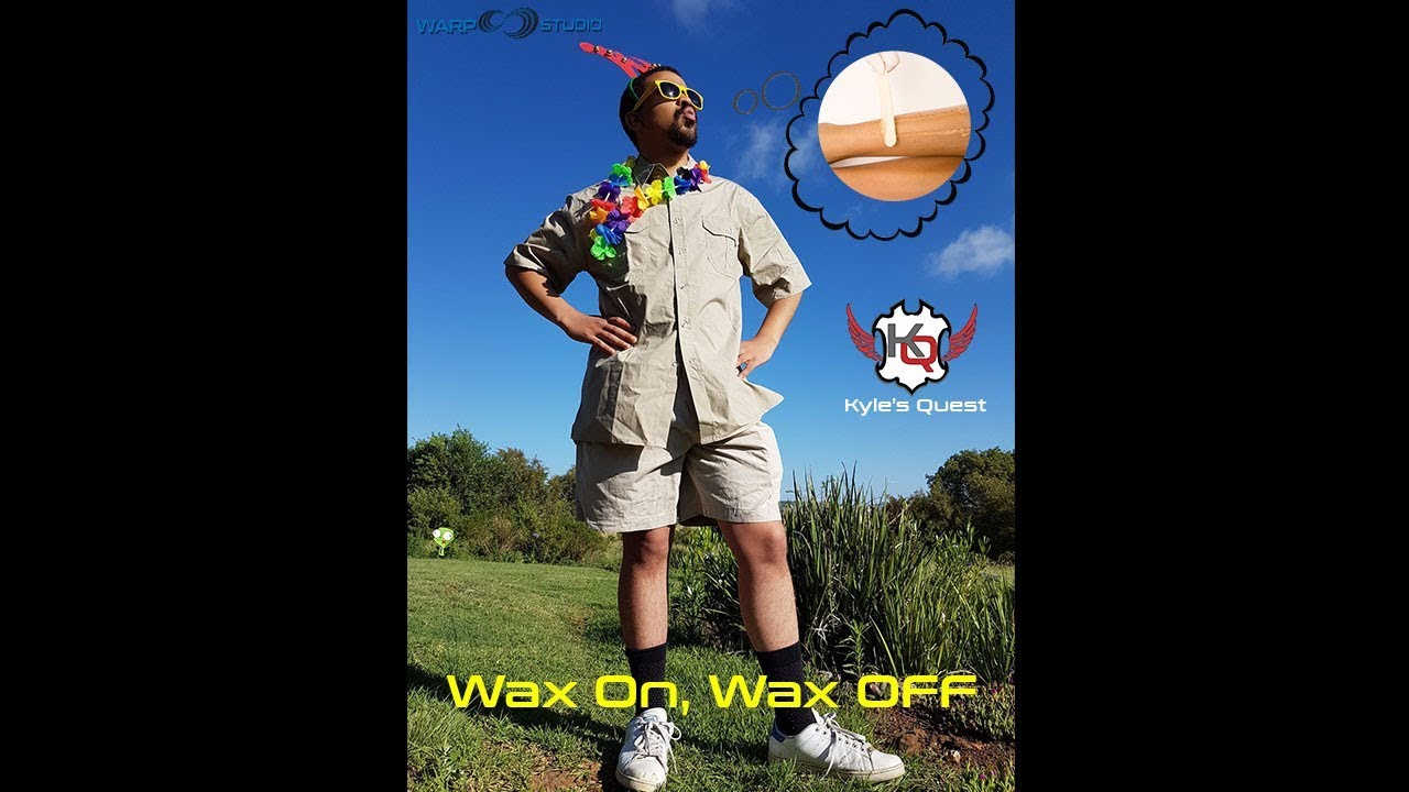 8472695d15 Kyle s Quest EP07 - Wax on hair off - YouTube