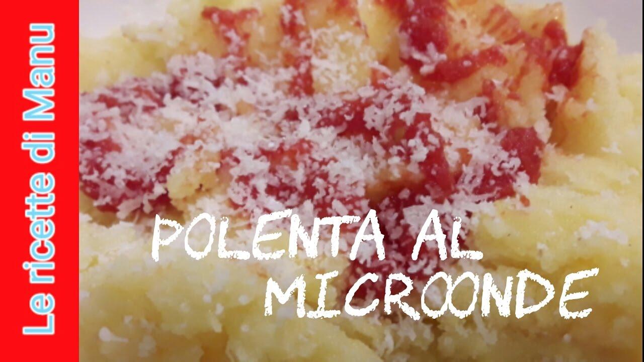 Polenta col microonde - YouTube