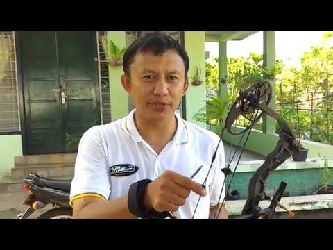 Tips memasang peep sight pada compound bow by archery Bukittinggi