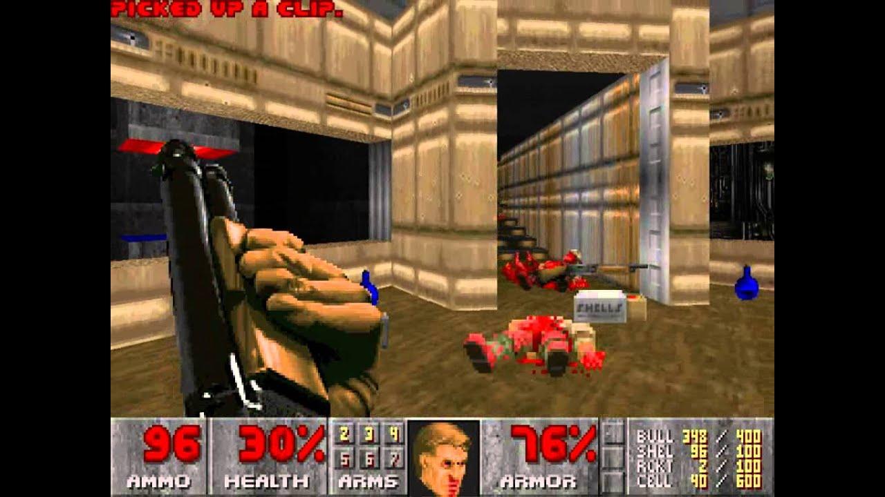 The Nightmare Comparison: Vanilla Doom/Doom 2 vs  BFG Edition Doom/Doom 2